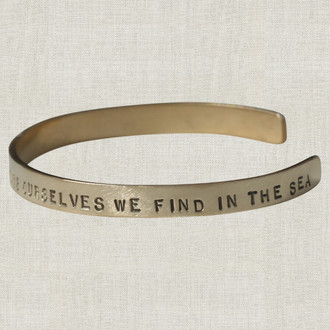 COCO Always Ourselves We Find In The Sea Cuff