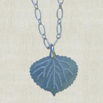 Aspen Leaf Necklace