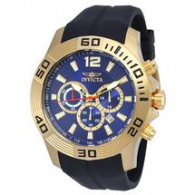 Invicta Men's Pro Diver Quartz Chronograph Blue Dial Watch 20299