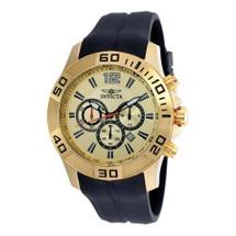 Invicta Men's Pro Diver Quartz Chronograph Gold Dial Watch 20302