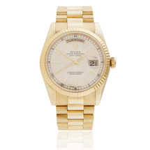 Presidential Rolex Day Date 18k Yellow Gold Watch