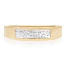 14k Yellow Gold .20ct Diamond Ring