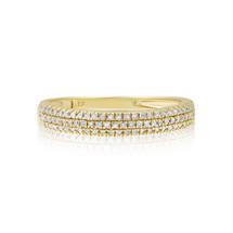 10k Yellow Gold .26ct Diamond Ring