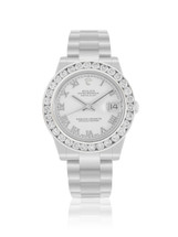 Rolex DateJust Midsize Stainless Steel with 3.5ct Diamond Watch