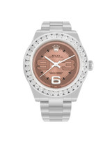 Rolex DateJust Midsize Stainless Steel with 3ct Diamond Watch