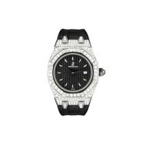 Audemars Piguet Royal Oak Stainless Steel 6.5ct Diamond Watch