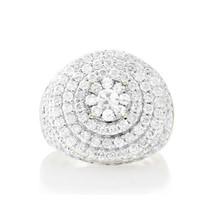 10K Yellow Gold 4.22ct Diamond Ring