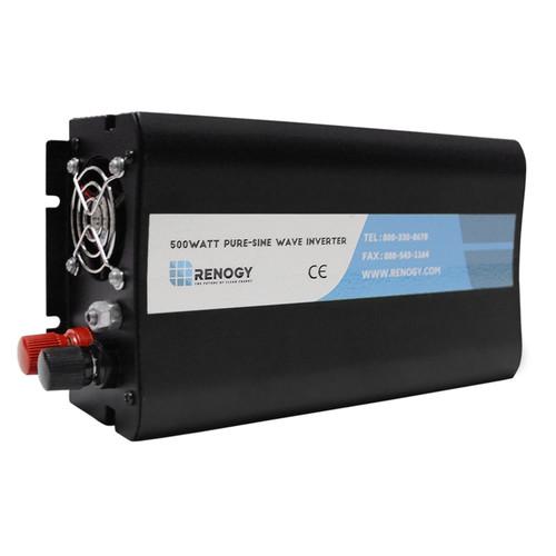 RENOGY 1000W 12Vオフグリッド純正弦バッテリーインバーター(ケーブルを含む)