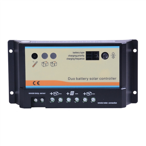 Renogy 20 Amp PWM Duo Battery Solar Charge Controller