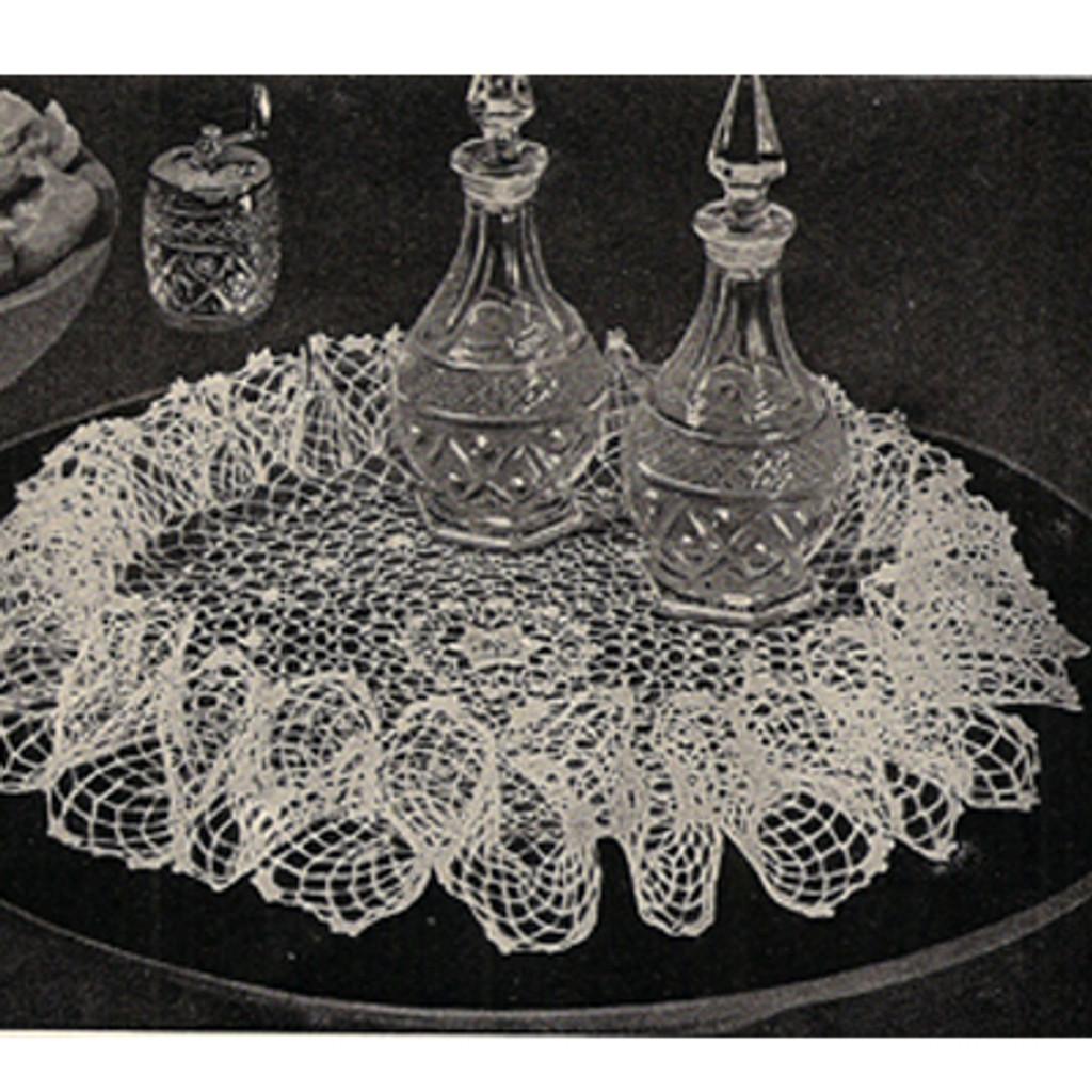 Vintage Crochet Doily Pattern No 5907