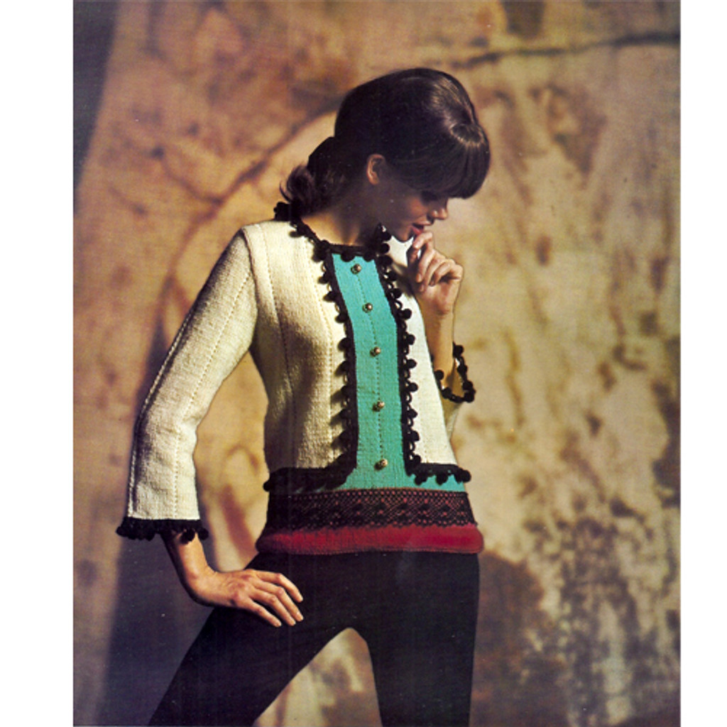 Vintage Matador Knitted Pullover Pattern