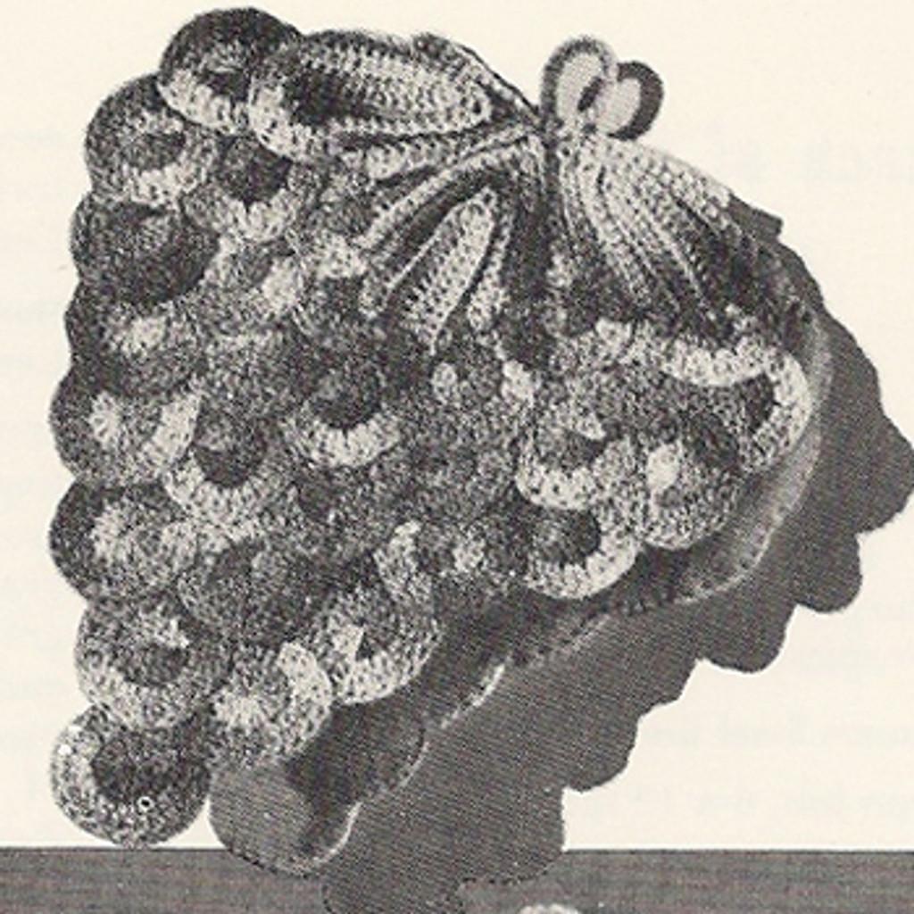 Large Grape Potholder Crochet Pattern