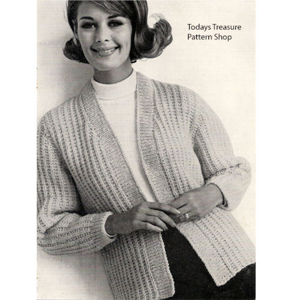Vintage Knit Crochet Shop Talk Crocheted Knitting Sweaters American