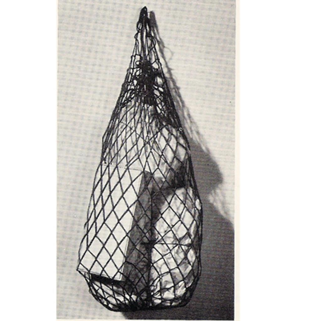 Vintage Mesh Crochet Drawstring Bag Pattern