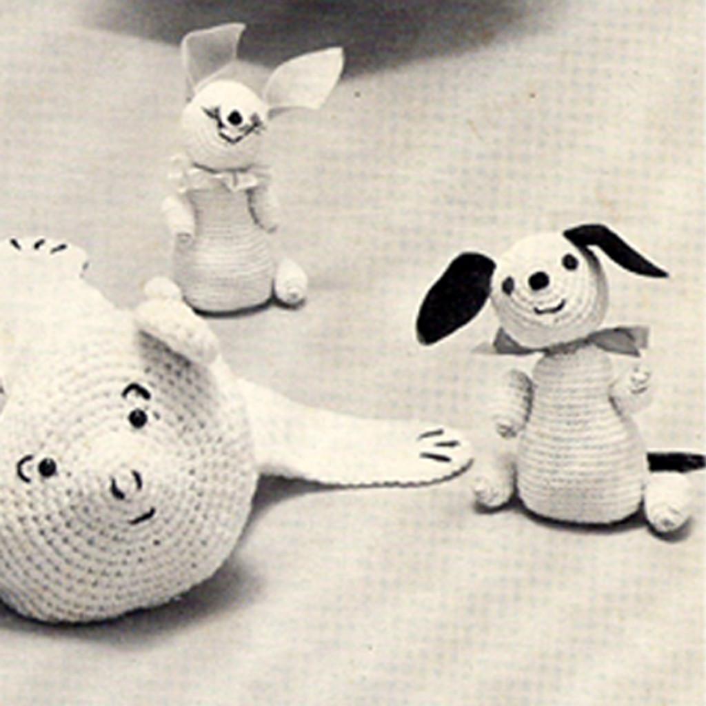 Vintage Crochet Toys Pattern