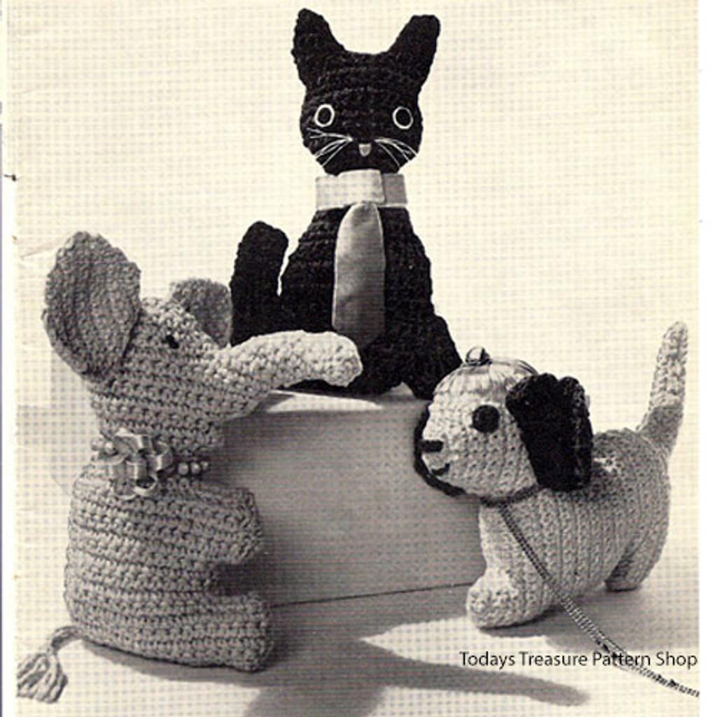 Vintage American Thread Crochet Toys Pattern
