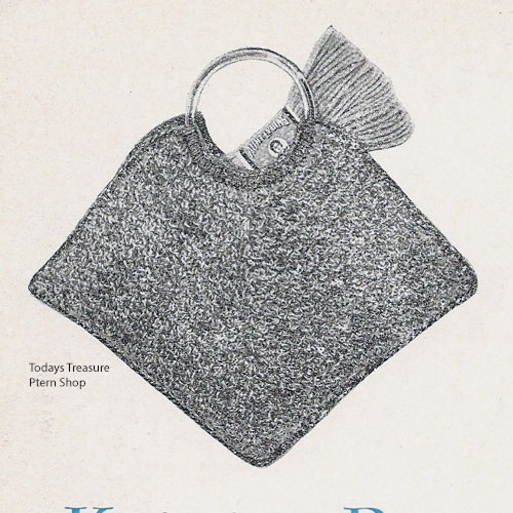 Knitting Pattern for Craft Bag