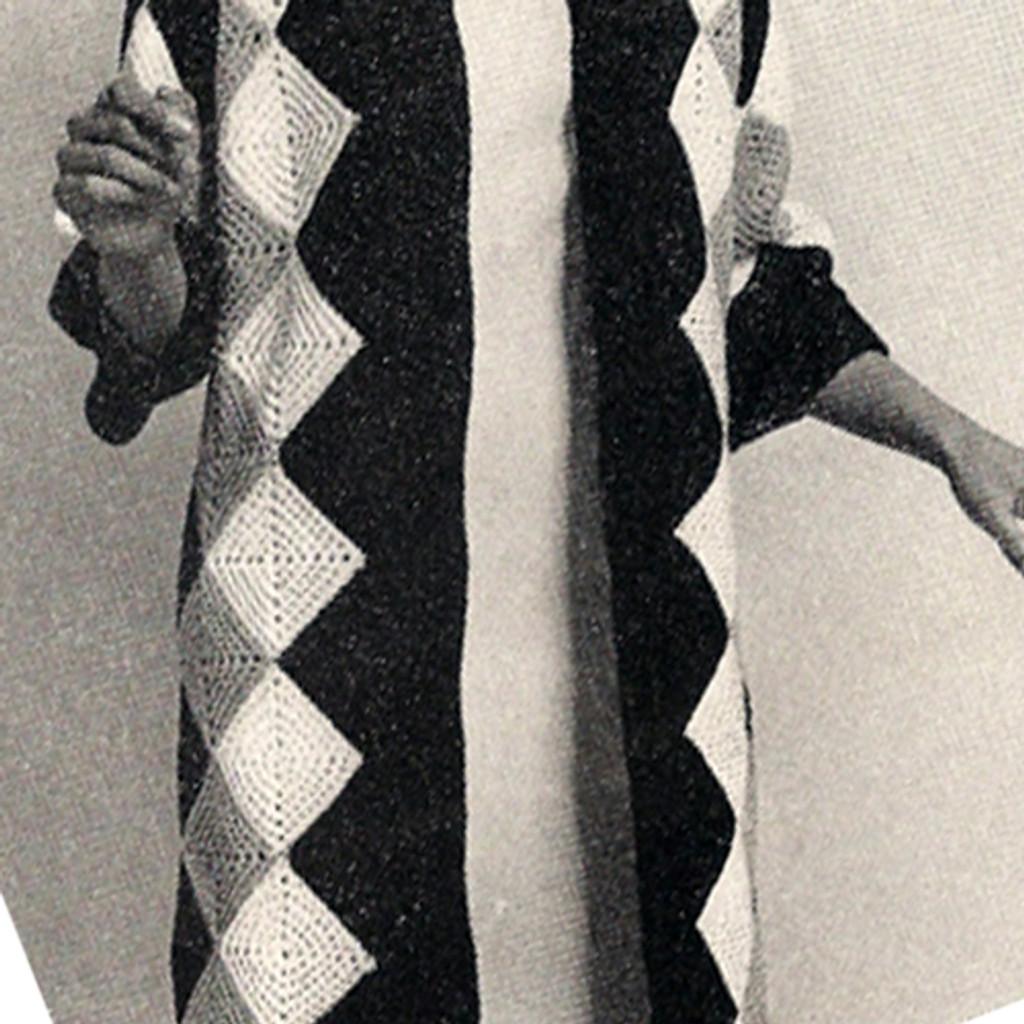 Vintage Harlequin Crochet Crochet Pattern