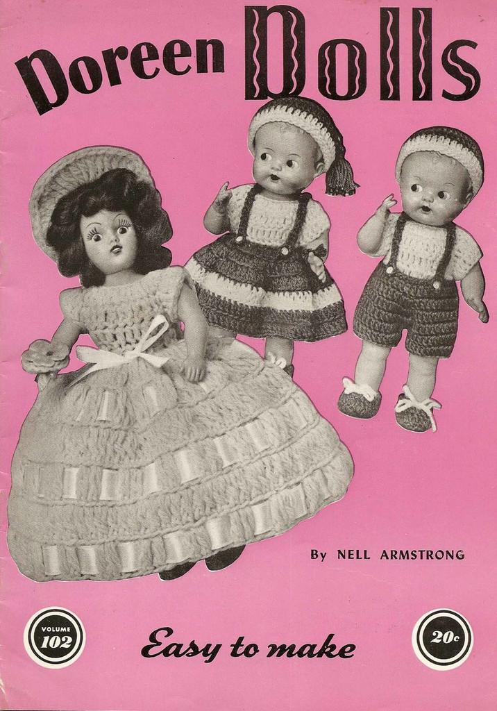 PDF copy of Doreen Dolls Vol 102 Pattern Book