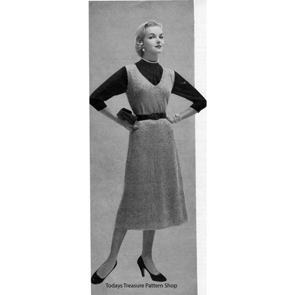 Vintage Jumper Knitting Pattern