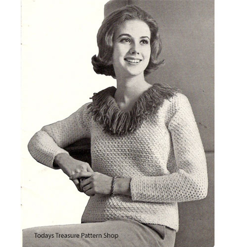 American Thread Crochet Blouse Pattern