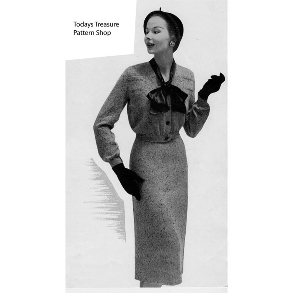 Tweed Knitted Suit Pattern No 668