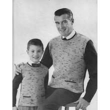 Mans Tweed Shirt Knitting Pattern