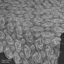Crochet Bedspread Pattern, Windmill
