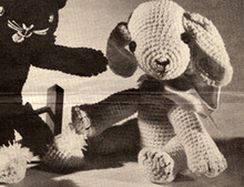 Crocheted Puppy Dog Pattern