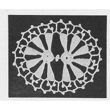 Crochet Oval Medallion Pattern