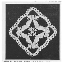 Crochet Flower Square Medallion Pattern