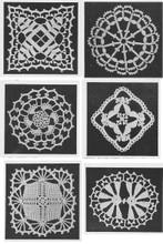 Crocheted Medallion Set for Bedspreads