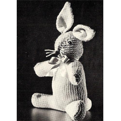 Vintage Bunny Rabbit Knitting patterrn