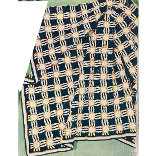 Crocheted Honeycomb Afghan Pattern