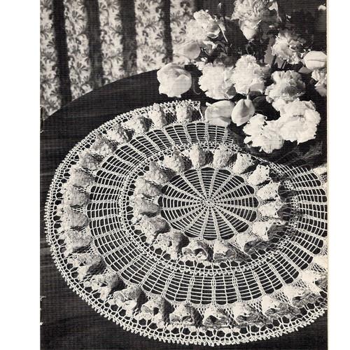 Coats & Clark's Fluted Doily Pattern