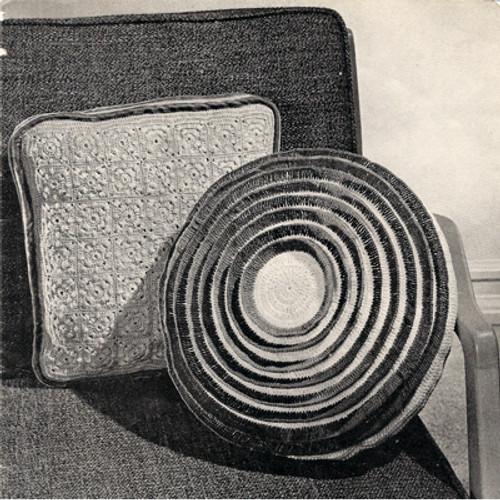 Vintage Knit Crochet Pillow Patterns
