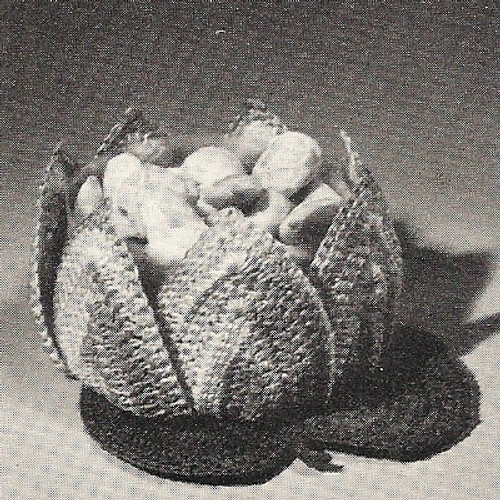 Crochet Water Lily Bowl Pattern
