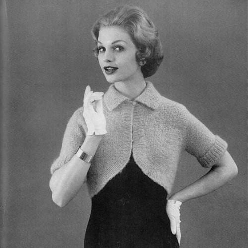 Short Sleeve Knitted Shrug Pattern