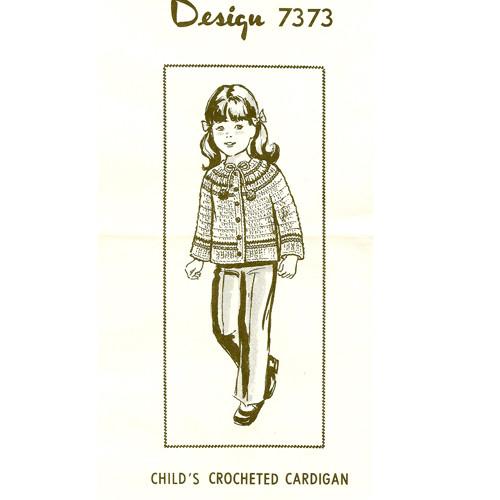 Girls Raglan Jacket Crochet Pattern