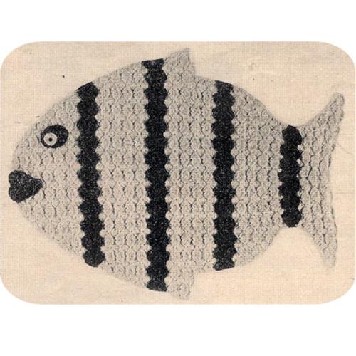Crochet Fish Place Mats Pattern