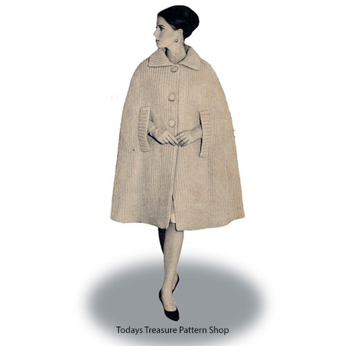 Knee Length Cape Pattern
