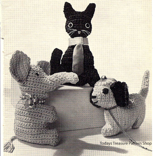 Crocheted Stuffed Animals Pattern