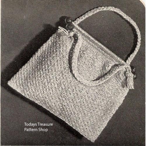 Crochet Utility Bag Pattern for Knitting