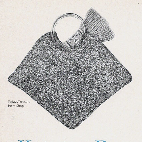 Free Triangle Shaped Crochet Carry-All Bag Pattern