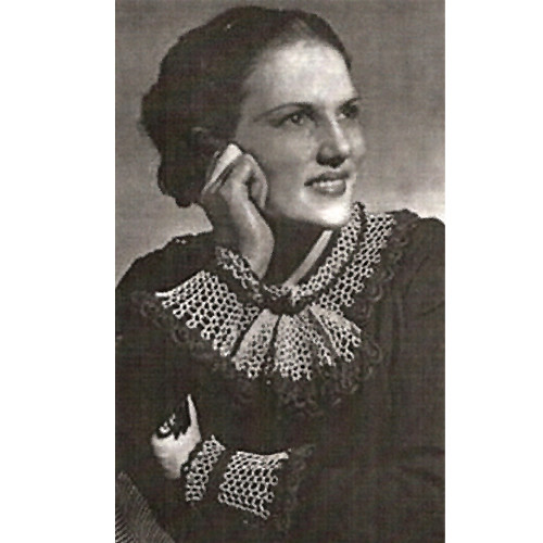 Lace Collar & Cuffs Vintage Crochet Pattern