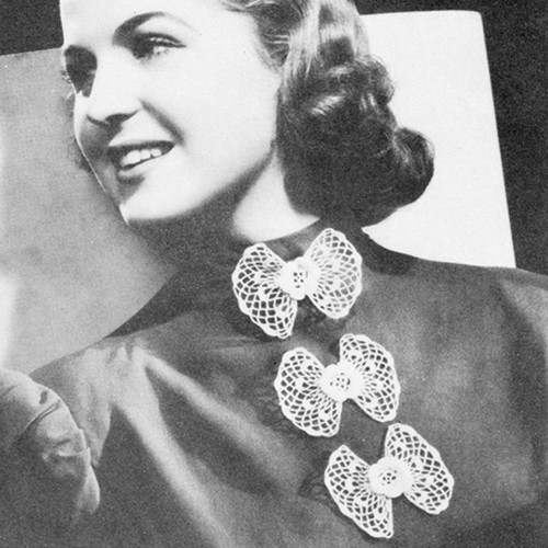 Crochet Flower Collar Pattern
