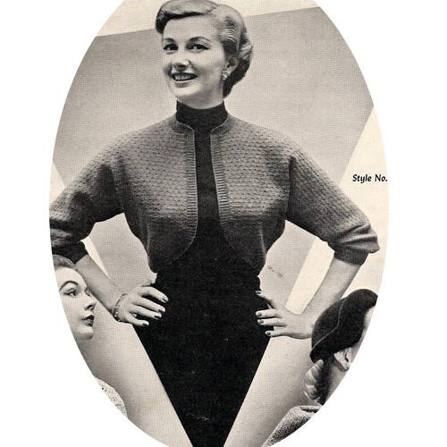 Shrug Knitting Pattern with Three Quarter Sleeves