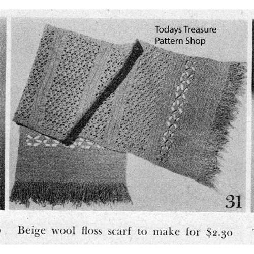 Free Wool Scarf Crochet Pattern