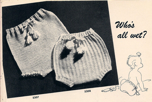 Vintage Knitted Soakers Pattern