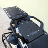 BDCW Pillion Rack pictured with BDCW Multi-function Rear Rack - a GREAT COMBINATION